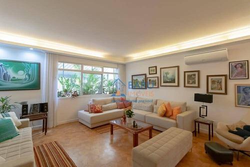 Imagem 1 de 29 de Apartamento Com 3 Dormitórios À Venda, 195 M² Por R$ 1.390.000,00 - Higienópolis - São Paulo/sp - Ap62137