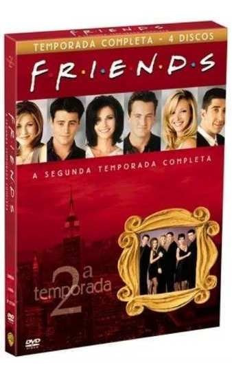 Box Friends 2º Segunda Temporada Completa 4 Dvds -lacrado