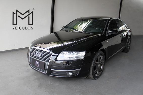 Audi A6 2.4 30v Tip/mutitronic Preto 2008