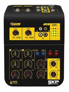 Consola Mezcladora 6 Canales Skp Mixconnect 6