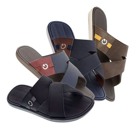 Chinelo Cartago Napoles Ii Masculino Slide Original Calçado