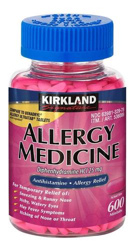 Imagen 1 de 3 de Antialérgicos Kirkland Alivio De Alergias Estornudos Picor