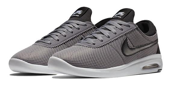 Zapatillas Nike Sb Bruin Vapor Textil Gris Mesh Hombre Mujer