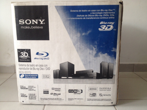 Sony Bdv-e570 3d Bluray 5.1 Home Theater System