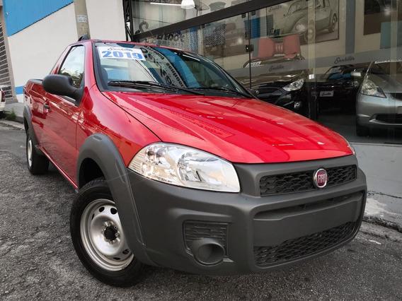 Fiat Strada Hard Working 0km Completa Vermelha - 2019