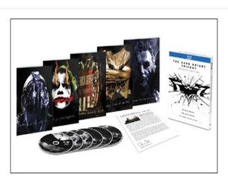 Batman Blu Ray The Dark Knight Trilogy Special 6 Disc Nuevo
