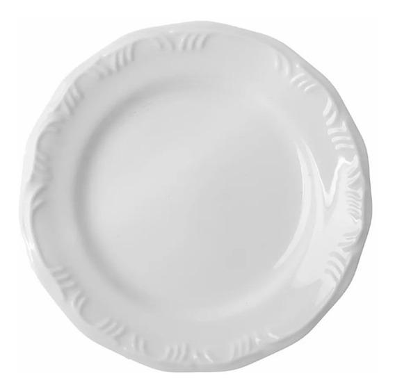 Jogo De Pratos Rasos 6un Pomerode 26cm Porcelana Schmidt