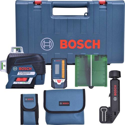 Imagem 1 de 8 de Nível A Laser 120 M Gll 3-80 Cg Professional Bosch