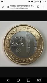 Moeda Comomorativa 50 Anos Do Banco Central