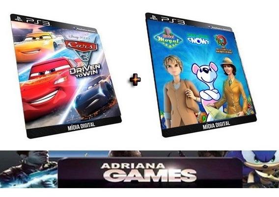 Carros 3 Driven To Win + Alawar Arcade Bundle Jogo Ps3 Psn