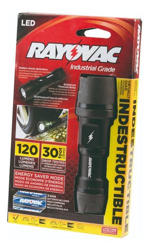 Linterna Led Rayovac Indestructible Alta Intensidad C/pilas