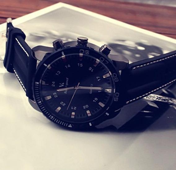 Relógio Quartz Analógico Masculino Esportivo Vogue V6
