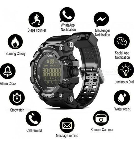 Relógio Multifunções Lokmat Ex16 Militar Esportivo Promoção