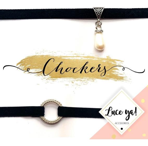 Chocker (precio Por Mayor X 10 Unidades) Fabrica Bijouterie