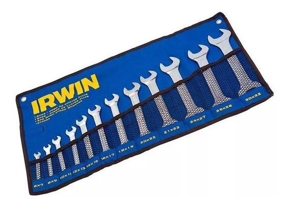 Jogo De Chave Fixa 12 Peças 6 A 32mm 1879253 Irwin