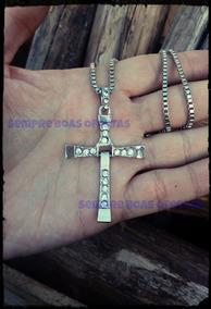 Colar E Crucifixo Vin Diesel Velozes E Furiosos Toretto