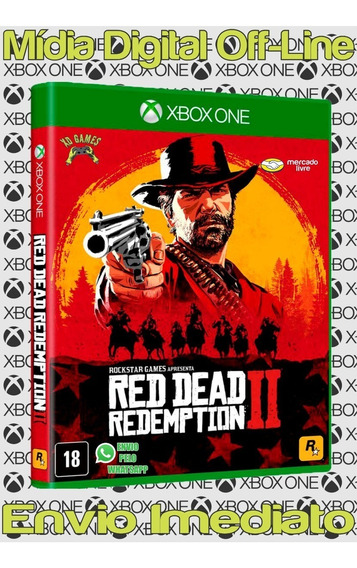 Red Dead Redemption2 Ed Especial Xbox Mídia Digital Offline