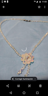 Collar De Cristal De Swarovski