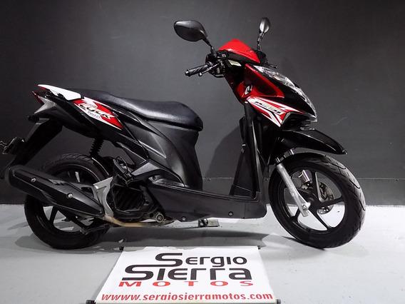 Honda Click125 Negra 2016