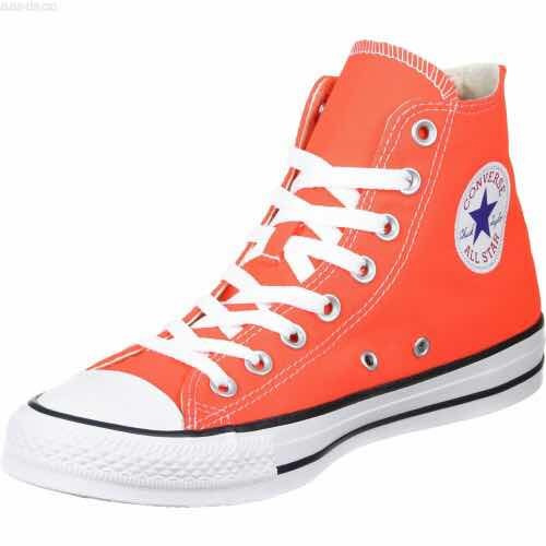 Converse Chuck Taylor All Star Hi Naranjas Orange ¡ Última !