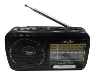 Radio Portatil Fm/am Recargable Linterna Bluetooth Usb Y+