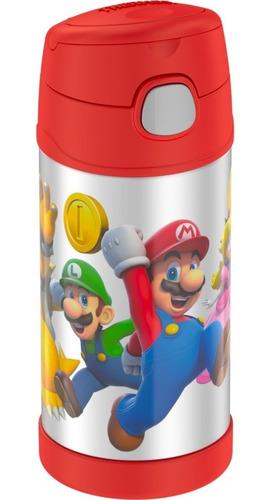 Thermos - Termo Para Bebidas - Mario Bros - Original!!!