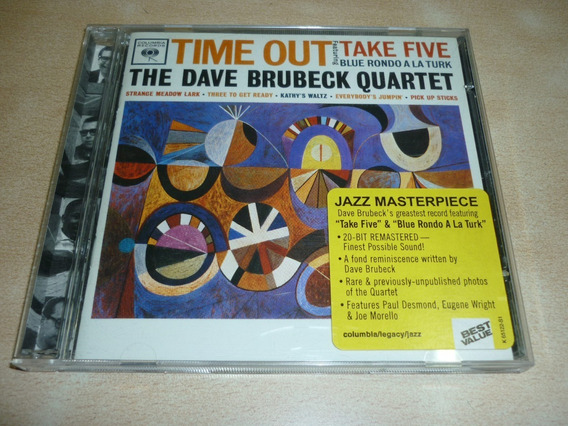 Time Out Brubeck Dave Cd Remaster Americano Impecable