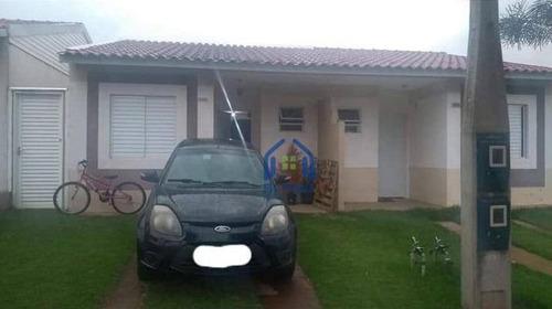 Casa Com 2 Dormitórios À Venda, 65 M² Por R$ 163.000 - Moradas Dos Ipês - São José Do Rio Preto/sp - Ca2591