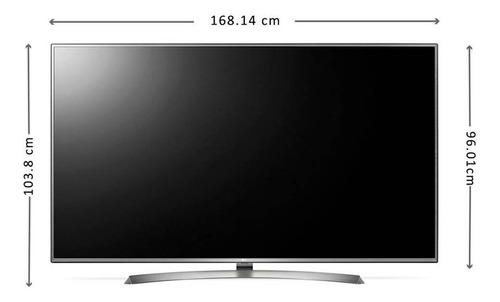 Imagen 1 de 6 de Pantalla Led LG Tv 75 Pulgadas 4 K Uhd Smart Usb Amyglo