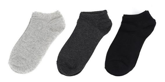 Calcetines Cortos De Hombre C&a 3 Pack Básicos