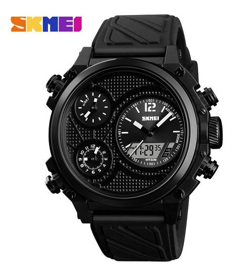 Relógio Skmei 1359 Analógico E Digital Novo Sem Uso