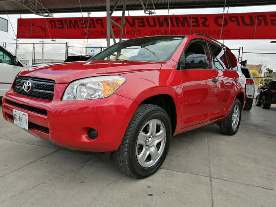 Toyota Rav4 2008 Vagoneta Base 3 Fila At