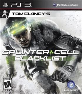 Splinter Cell Blacklist Español   Ps3   Tenelo Hoy