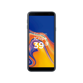 Samsung J4+ Negro   Postpago - Plan Control Ichip+ 39.90c