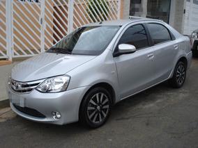 Toyota Etios 1.5 16v Platinum Top De Linha Todo Original