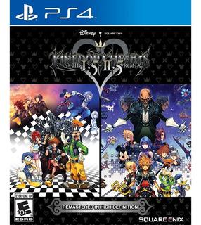 Kingdom Hearts Hd 1.5 + 2.5 Remix Playstation 4