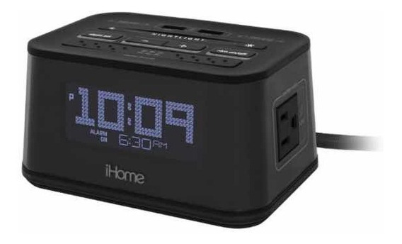 Reloj/ Alarma Despertador Ihome Hih48 Sin Caja