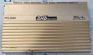 Planta Amplificador Carro Dhd 250w X 4ch 1000w En 2 Ohm