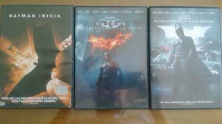 Batman. Trilogia C. Nolan. Dvd. Nuevo. Original