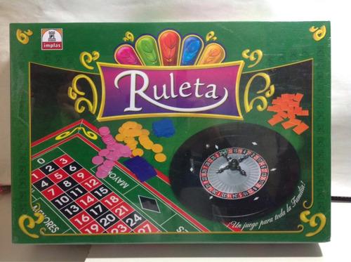 Imagen 1 de 3 de Juego Ruleta Familiar Implas