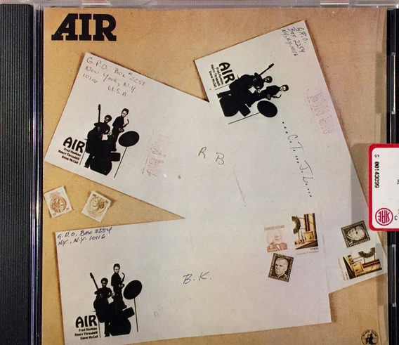 Air - Air Mail - Jazz Cd Importado Italy - Lacrado