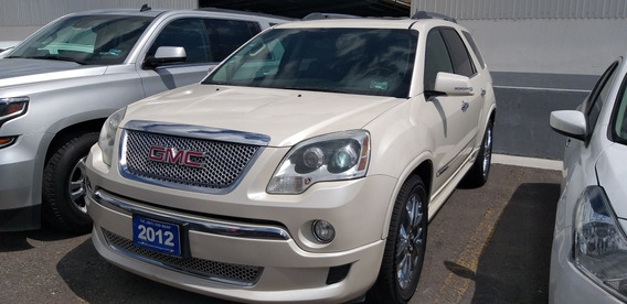 Gmc Acadia 3.6 Denali Qc Piel 4x4 At 2012