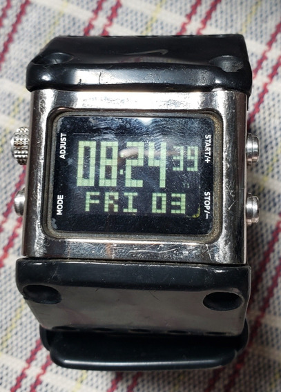Relógio Nike Sledge Wc0040-096 Usado Original