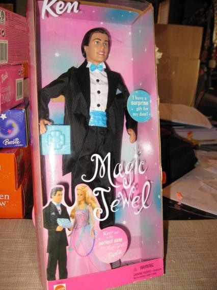 Barbie E Ken Joias Magicas Raro Lacrados.