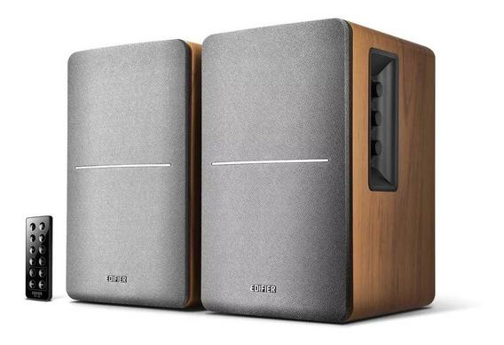 Monitor De Audio Edifier R1280db Madeira 42w Rms Bt Bivolt