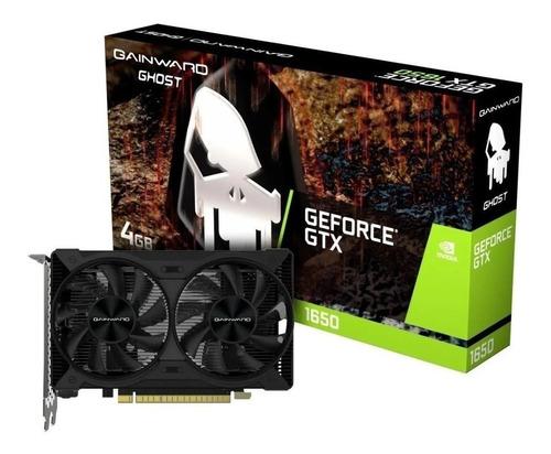 Imagem 1 de 3 de Placa De Vídeo Nvidia Gainward  Ghost Geforce Gtx 1650 4gb