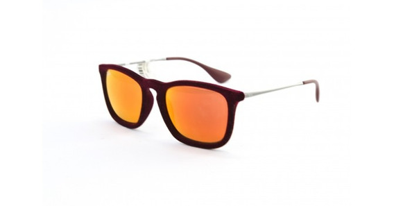 Óculos De Sol Ray Ban Chris Velvet Rb4187 6078/6q Acetato