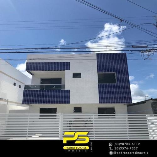 Apartamento Com 2 Dormitórios À Venda, 60 M² Por R$ 135.000 - Mangabeira - João Pessoa/pb - Ap3346