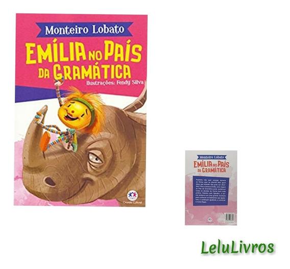 Livro Monteiro Lobato Emília No País Da Gramática