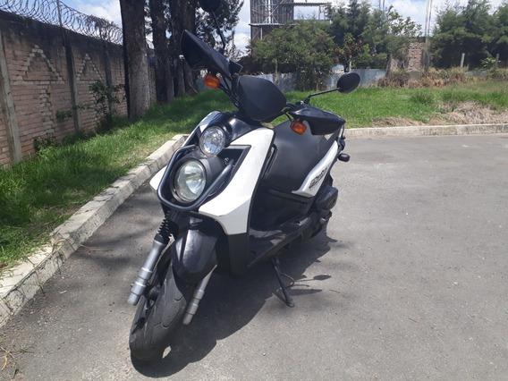 Yamaha Bws Blanco, Negro Modelo 2013 Excelentes Condiciones